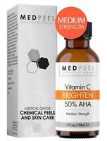 MedPeel AHA & Vitamin C Brightening 50% Peel - Medium Strength 1oz / 30ml