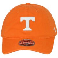 NCAA Zephyr Tennessee Vols Volunteers Orange Adjustable Curved Bill Hat Cap