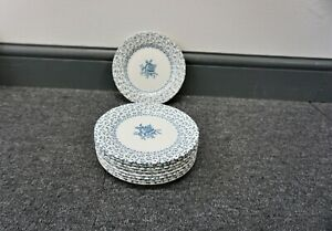 """ROYAL VICTORIA ROSE BOUQUET  SIDE PLATES 6.75"""" - REPLACEMENT CROCKERY"""