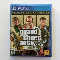 Grand Theft Auto V _GTA 5 + Premium Online Content (PS4)  *BRAND NEW*