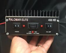 PALOMAR ELITE 450 HD Linear Amplifier for parts / repair HAM CB Radio