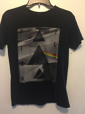 Pink Floyd 2014 Graphic Dark Side Of The Moon T-Shirt Black & Gray Woman's  XS