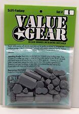 SciFi Supplies #1 War Game 28mm 1/48-1/56 Scale - ValueGear 27 resin pcs