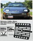 For 83-86 Porsche 928s Front Bumper Tow Hook License Plate Relocator Bracket 928