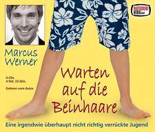 Warten auf die Beinhaare Marcus Werner 4CD-BOX OVP