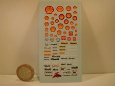 "DECALS 1/43  PETROLIER "" SHELL "" - VIRAGES T62"