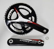 FSA K-FORCE LIGHT CARBON CRANK SET CRANKSET 175 53/39 11SPEED 386 EVO BB386 RED