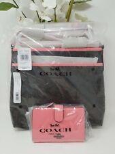 Coach Women's 29210 Signature Zip File Crossbody Shoulder Bag