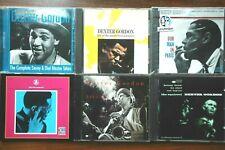 6xcd Dexter Gordon Savoy Sessions/A'dam '69 Bennink/Man in Paris sealed/Ballads