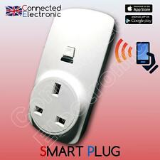 SMART POWER SOCKET UK PLUG HOME AUTOMATION WIRELESS ALARM RFID GSM WIFI 433 MHz
