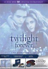 Twilight Forever The Complete Saga DVD BOXSET 12 Disc