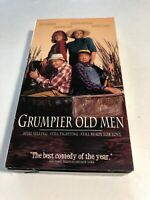 V035 VHS Tape Jack Lemon Walter Matthau Grumpier Old Men Warner Bros 14191