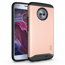 TUDIA Slim-Fit MERGE Dual Layer Protective Cover Case for Motorola Moto X4