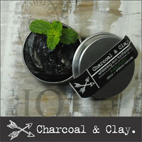 > 90g CHARCOAL TOOTHPASTE Natural whitening Organic Australian made 100% natural