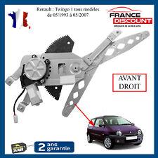 leve vitre electrique + moteur avant droit Renault Twingo 1 = 7700830597
