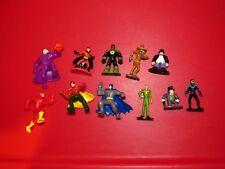 DC Mixed mini Figure lot Batman Joker Penguin Robin Scarecrow Nightwing