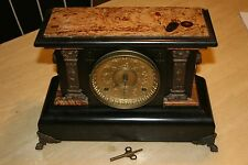 Antique Vintage Seth Thomas Mantle Clock with key