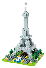Rives De La Seine A Paris Nanoblock Micro-Sized Building Block Construction Toy