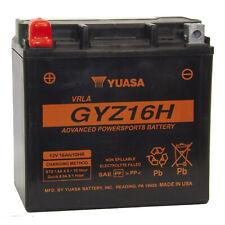 Genuine Yuasa GYZ16H 12V 240A CCA High Power Motorbike Motorcycle Battery