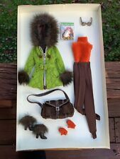 Barbie Silkstone Fashion Model Skiing Vacation Outfit & Accessories NRFB MIB