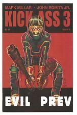 Kick-Ass 3 #1-8 Set/Mark Millar/John Romita Jr/2013 Marvel/Icon Comics
