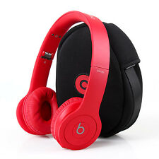 Beats by Dr. Dre Solo HD Monochrome RED Headband Headphones - matte red