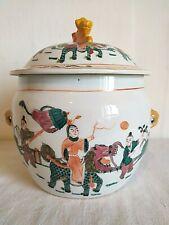 Pot couvert porcelaine chinoise Tongzhi C. 1900