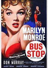 Marilyn Monroe bus stop  Retro Metal Tin Sign Poster Plaque Garage Wall Decor A4