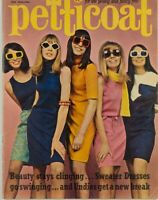 PATTIE BOYD Mary Quant ROBERT REDFORD Oliver Goldsmith PETTICOAT magazine UK vtg