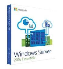 Microsoft Windows Server Essentials 2016 64B English DVD 1-2CPU