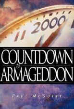 COUNTDOWN TO ARMAGEDDON -  PAUL MCGUIRE - PAPERBACK - 2000