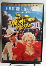 The Best Little Whorehouse in Texas 1982(DVD,2003)Free S&H-Burt Reynolds-Dolly P