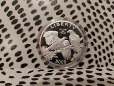More details for usa five dollar bald eagle commemorative silver coin dated 2008