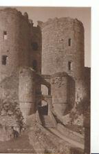 Wales Postcard - Gateway - Harlech Castle - Caernarvonshire - Ref ZZ5256