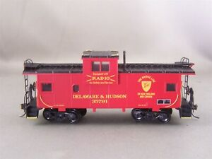 Athearn - Delaware & Hudson - Wide Vision Caboose + Wgt & Windows # 35791