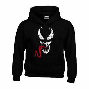 Venom Hoodie Tom Hardy Movie Gym Halloween Christmas Gift Unofficial Kids Hoody