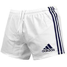 Adidas 3S Shorts Herren Sporthose kurz Training Hose Fitness Laufhose weiß/blau
