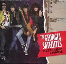 THE GEORGIA SATELLITES  Battleship Chains / Golden Light  45 with PicSleeve