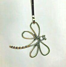 Dragonfly Tibetan Silver Zipper Pull Purse Charm Jewelry