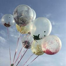 """10 pcs 12"""" Clear Latex Helium Air Transparent Balloons Wedding Party Decorations"""