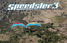 Ozone Speedster 3 Reflex Power Glider for Paramotoring, PPG, Powered Paraglider