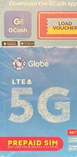 Globe Prepaid Sim Card Philippines 5G Lte 1 Gb For 7 Days Using Globe App