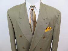 Hugo Boss Loro Piana Italy Tasmanian Wool Green Blazer Jacket Sport Coat 44R USA