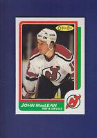 John MacLean RC 1986-87 O-PEE-CHEE Hockey #37 (MINT) New Jersey Devils