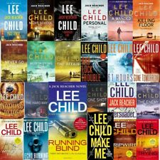Jack Reacher Series 24 Audiobook Collection By Lee Child (MP3) DVD