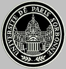 Universite De  Paris Sorbonne  Aufnäher Patch. Aufbügler