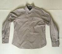 Mens Abercrombie & Fitch Long Sleeve Striped Button Up Muscle Fit Shirt Sz M