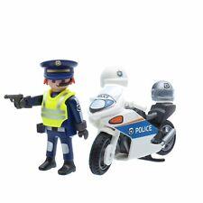 Playmobil 9774 Polizist Polizei Motorrad Police Officer Bike Highway Patrol