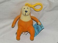 """NEW WITH TAG BIG BEAR IN THE BLUE HOUSE BACKPACK PLUSH CLIP 4"""" TALL"""
