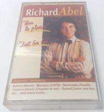 RICHARD ABEL Tape Cassette POUR LE PLAISIR~JUST FOR FUN ~GAM Canada RAC4-2002